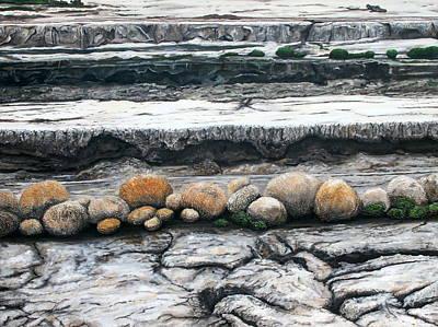 Painting - Cushion Bush Dam by Lyndsey Hatchwell