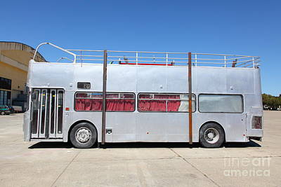 Whimsy Photograph - Custom Artistic Double Decker Bus 5d25357 by Wingsdomain Art and Photography
