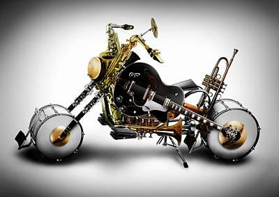 Digital Art - Custom Band by Alessandro Della Pietra