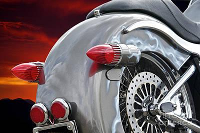 Giuseppe Cristiano - Custom Harley Davidson Detail by Dave Koontz
