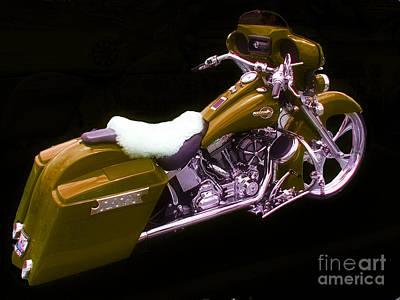 Photograph - Custom Harley by Scott B Bennett