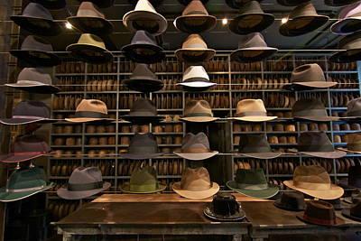 Custom Hats Art Print by John Babis