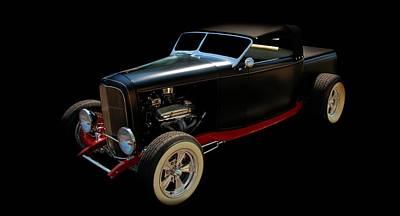 Old Cars Photograph - Custom Hot Rod by Aaron Berg