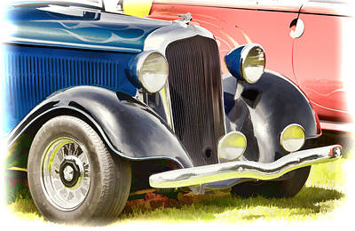 Photograph - Custom Hot Rod by Ron Roberts