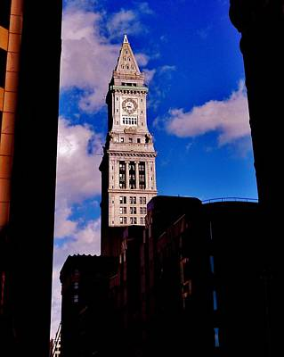 Photograph - Custom House Of Boston by Benjamin Yeager