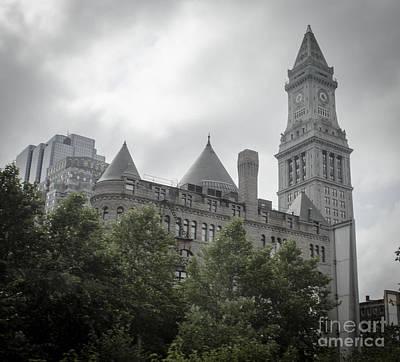 Photograph - Custom House Tower - Boston Massachusetts by Andrea Anderegg