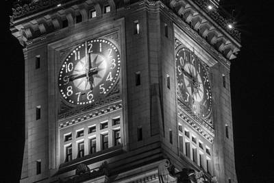 Photograph - Custom House Tower Close Up by John McGraw