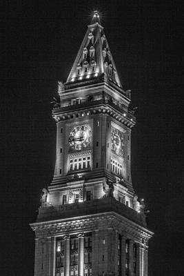 Photograph - Custom House Tower In Boston by John McGraw