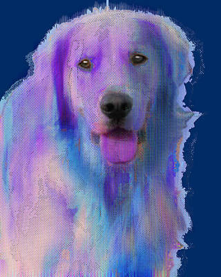 Painting - Custom Pet Portrait Dog by Tony Rubino