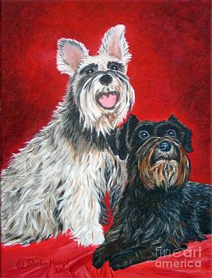 Painting - Custom Pet Portraits by Shelia Kempf