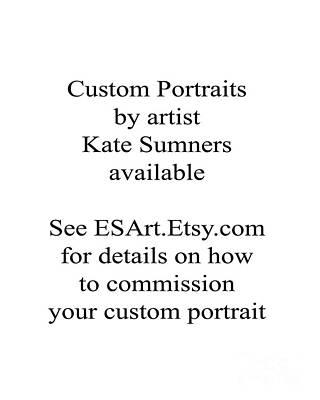 Painting - Custom Portrait by Kate Sumners