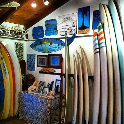 Photograph - #custom #surfboards & #art In All by Paul Carter