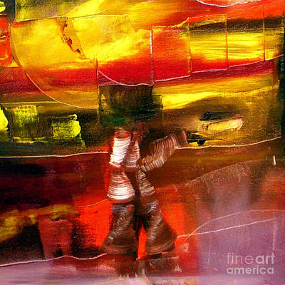 Painting - Cut - Have And Have Not by James Lavott