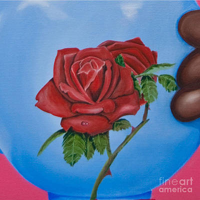 Painting - Cut - High Tea by James Lavott