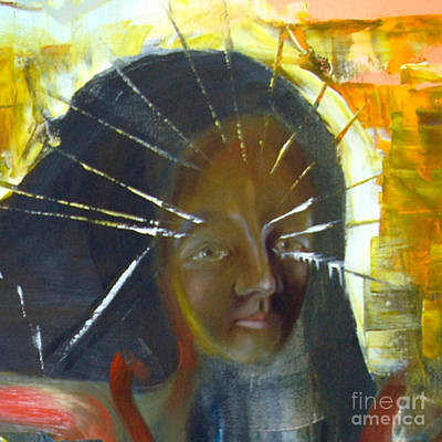 Painting - Cut - Innocence Of Youth by James Lavott