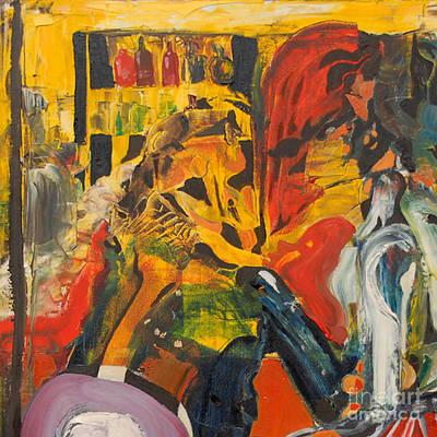 Painting - Cut - Mind That Hot Tea by James Lavott