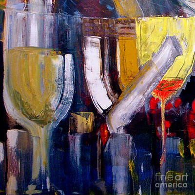 Painting - Cut - The Bar Scene by James Lavott