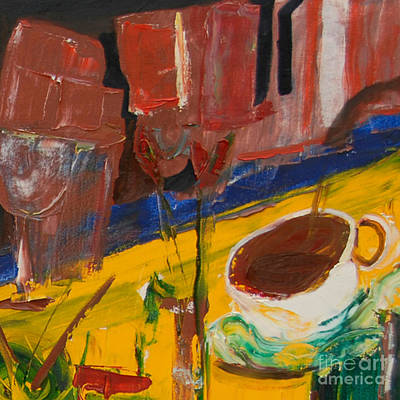 Painting - Cut II - With Coffee To Follow by James Lavott