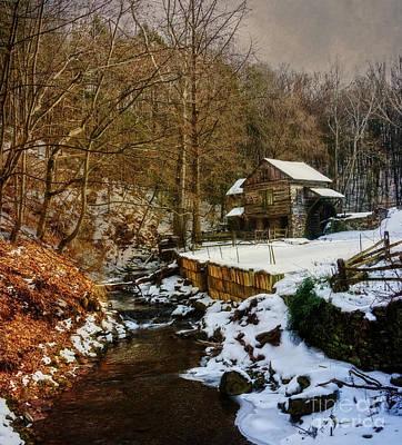 Photograph - Cuttalossa Farm In Winter II by Debra Fedchin