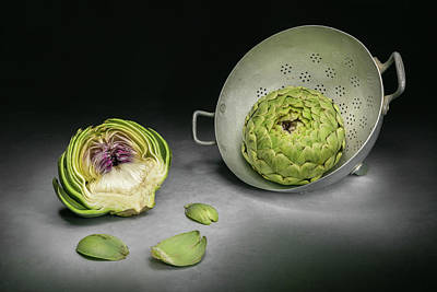 Vegetables Photograph - Cutaway by Christophe Verot