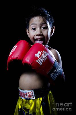 Kickboxer Photograph - Cute Boxer by Mystique Asian