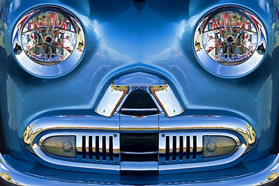 Cute Little Car Faces Number 2 Art Print