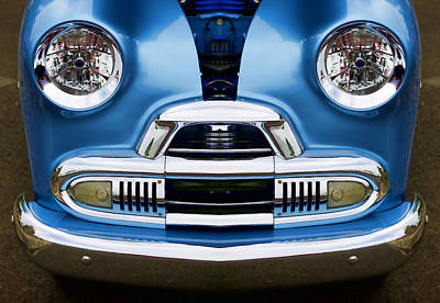 Cute Little Car Faces Number 4 Art Print