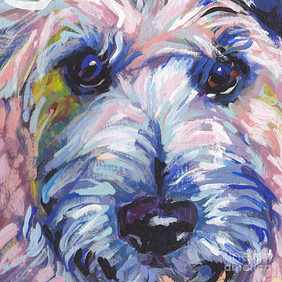 Cairn Terrier Painting - Cutey Face by Lea S
