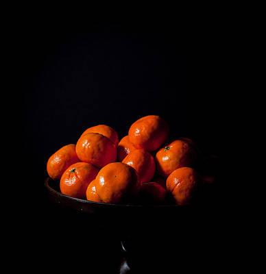 Tangerine Painting - Cuties by Theodore Lewis