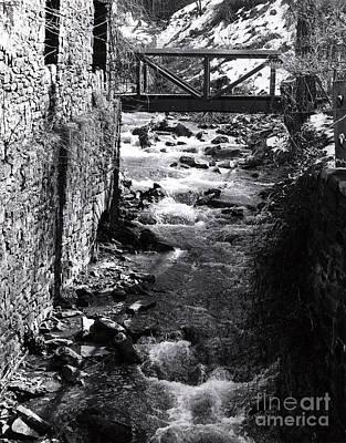 Solebury Photograph - Cuttalossa Creek by Addie Hocynec