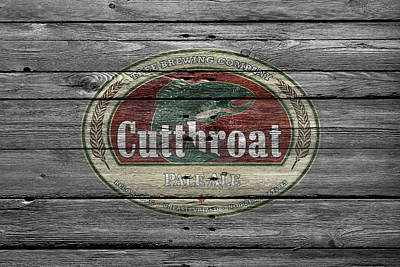 Cutthroat Pale Ale Art Print by Joe Hamilton