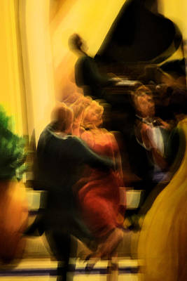 Photograph - Cutting A Rug by Nadalyn Larsen
