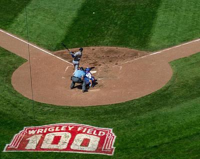 Photograph - Cutting A Transversal Through Baseball History by Tom Gort