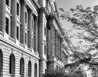 Photograph - Cuyahoga County Court House by Dale Kincaid