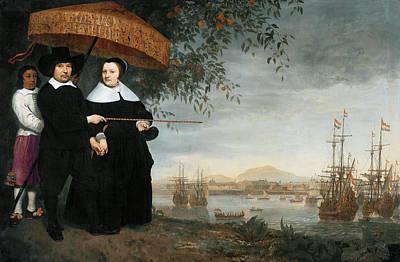 Painting - Cuyp Merchant At Batavia by Granger