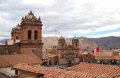 Photograph - Cuzco Plaza Del Armas by Cascade Colors