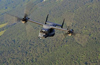 Photograph - Cv-22 Tilt Rotor by JC Findley