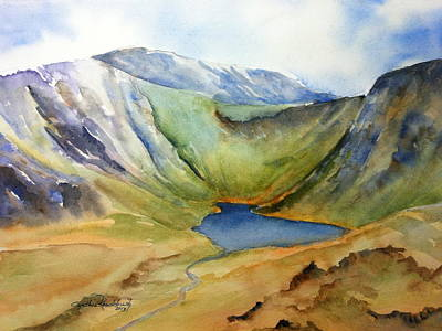 Painting - Cwm Idwal Snowdonia by Cynthia Roudebush