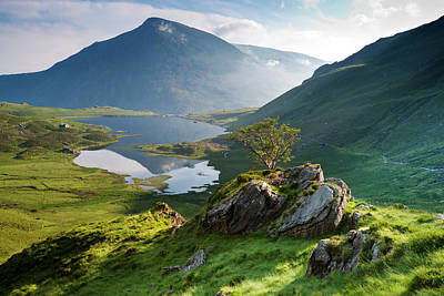 Photograph - Cwm Idwal, Snowdonia, North Wales by Alan Novelli