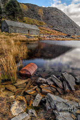 North Wales Uk Photograph - Cwmorthin Slate Quarry by Adrian Evans