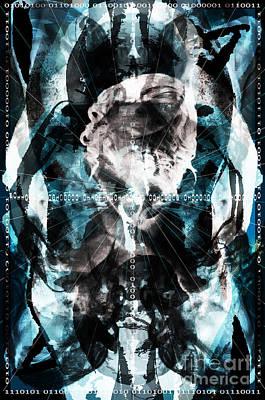 Digital Art - Cyber Spirit by Steven Murphy