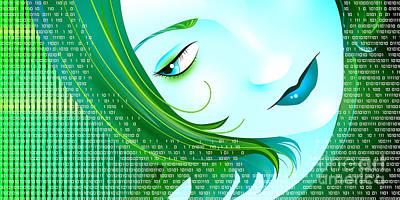 Cyberpunk Art Print by Sandra Hoefer