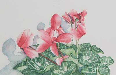 Painting - Cyclamen by Sandra Neumann Wilderman