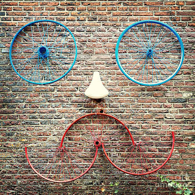 Biking Photograph - Cycle Face by Jane Rix