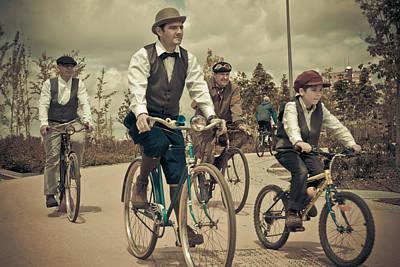 Amador Photograph - Cycling II by Amador Esquiu Marques