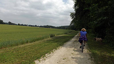 Photograph - Cycling On Holiday by Joyce  Wasser