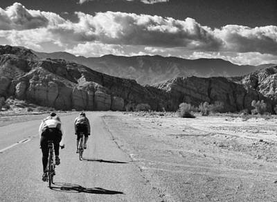 Photograph - Cycling Partners by Dave Hall
