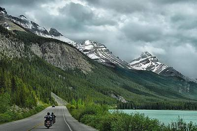 Photograph - Cycling Through Canada by Dyle   Warren