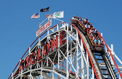 Photograph - Cyclone 2 by Jim Poulos