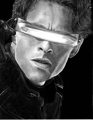 Cyclops Drawing - Cyclops by Kevin Contreras